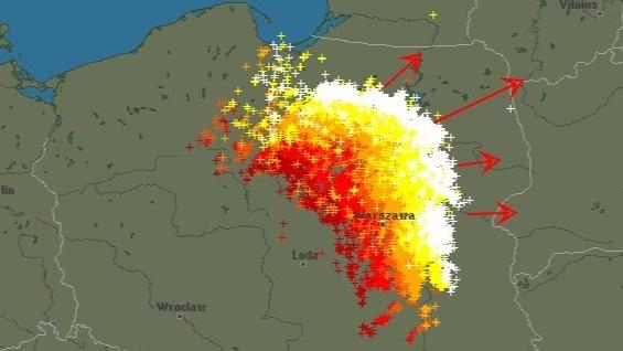 Front Burzowy Dotarl Do Polski Niebezpieczne Na Mazurach